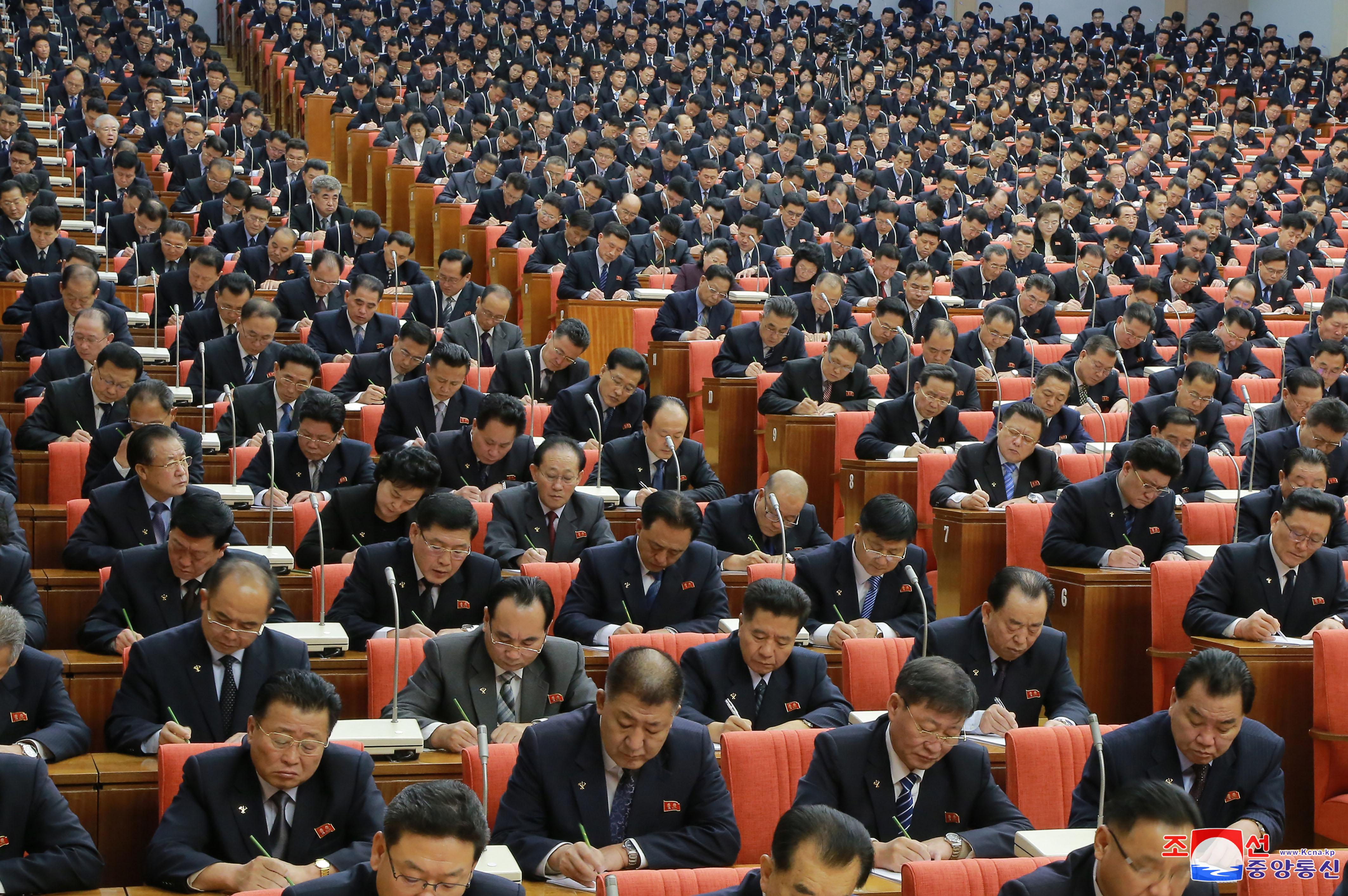 V Pleno del VII Período del Comité Central del Partido del Trabajo de Corea