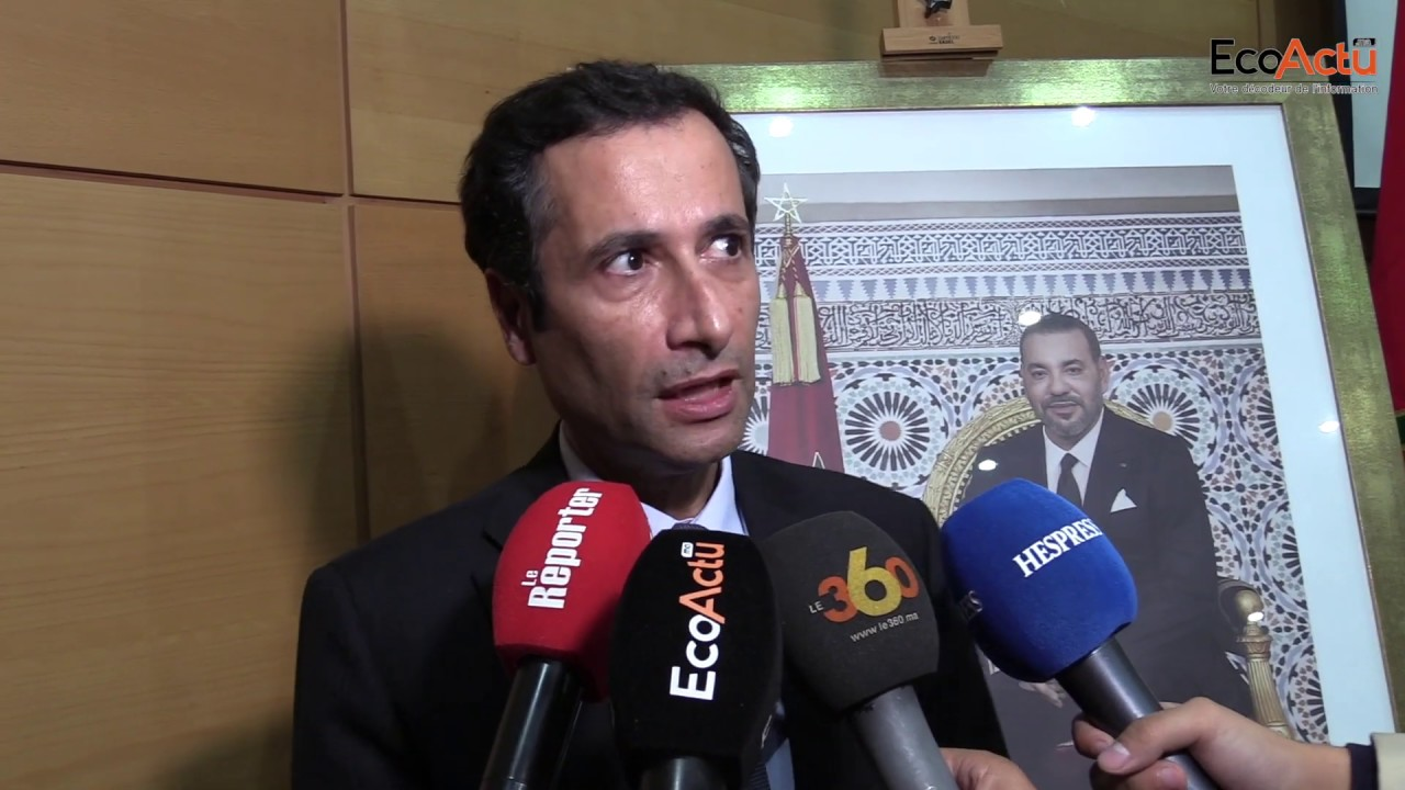 Sr. Mohamed Benchaâboun, ministro de Economía, Finanzas y Reforma de la Administración.