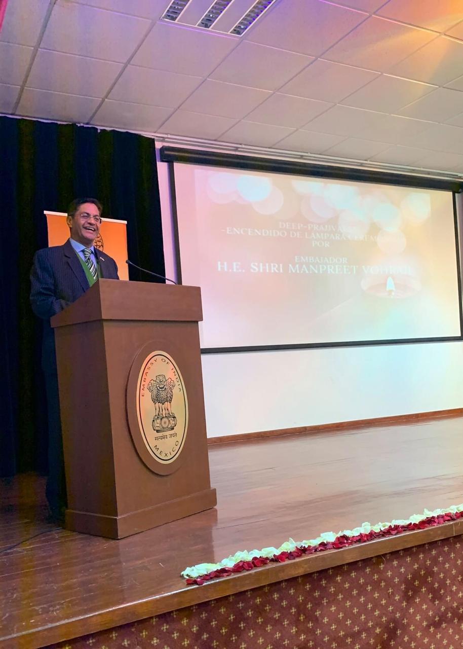 Manpreet Vorha, embajador de la India en México